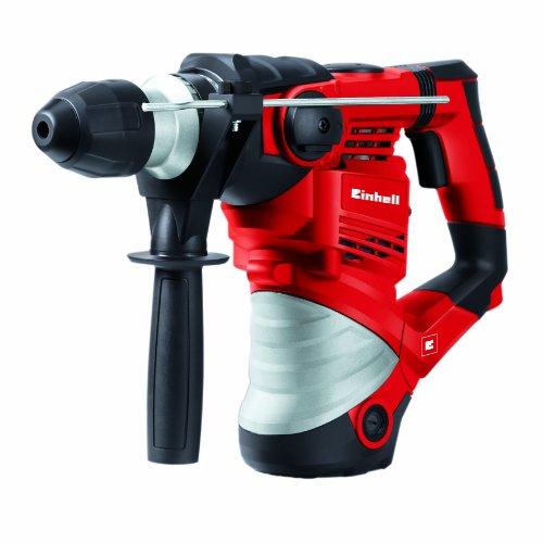 Einhell TC-RH 1600 (4-Funktions-Bohrhammer, 1.600 W, Schlagzahl 3.900 min-1, Schlagstärke 4 J, SDS-Plus,...