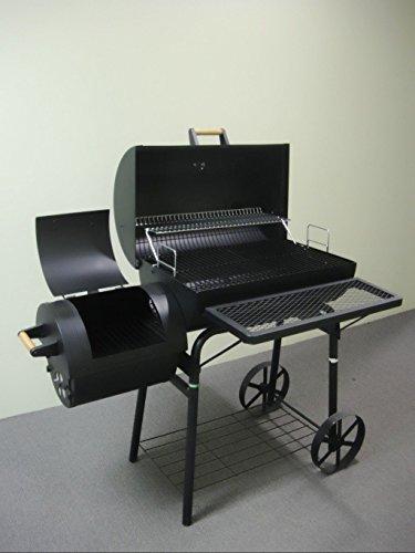 32kg - KIUG® XL Smoker LAGUNA SECA BBQ GRILLWAGEN Holzkohle Grill Grillkamin ca. 1,5 mm Stahl PROFI-QUALITÄT