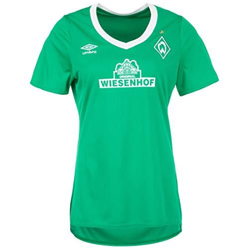 UMBRO SV Werder Bremen Trikot Home 2019/2020 Damen grün/weiß, L