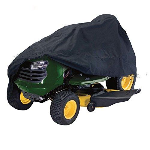 Rasenmäher Abdeckung, Rasen Garten Traktor Frontverkleidung Cover, Wasserdicht Oxford Tuch Universal-Passform...