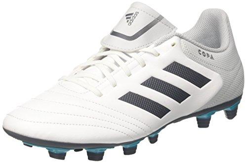 adidas Herren Copa 17.4 FxG Fußballschuhe, Weiß (Footwear White/Onix/Clear Grey), 40 2/3 EU