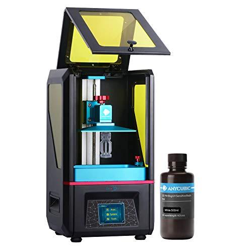 ANYCUBIC 3D Drucker, Photon UV LCD Drucker Zusammengebaute Innovation mit 2K Hochauflösender Off-line Druck,...