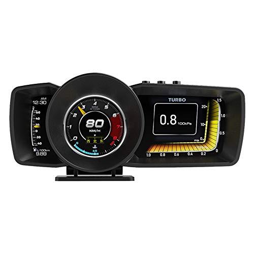 KAOLALI Auto Head Up Display OBD GPS Dual System Multifunktions HUD 2021 Neueste HUD Gauge Hawk OBD2 Auto...