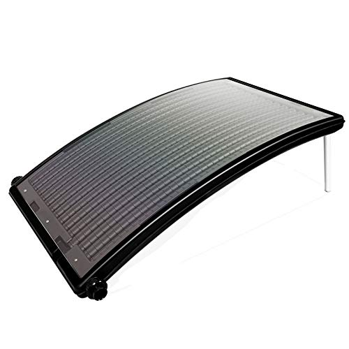wolketon Poolheizung Sonnenkollektor 110 x 69 x 14 cm Solarheizung für Pool Heizsystem Solar Solarkollektor...
