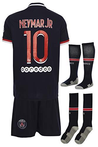Paris Neymar #10 2018 Heim Trikot Shorts und Socken Kinder und Jugend Größe (164)
