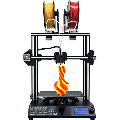 GEEETECH Neuer A20M 3D-Drucker mit Mischfarbendruck, integriertem Aufbau- und Doppelextruderdesign,...
