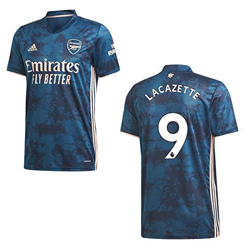 adidas FC Arsenal Trikot 3rd Herren 2021- LACAZETTE 9, Größe:M