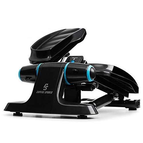 Capital Sports Galaxy Step - Ministepper, maximale Belastbarkeit: 120 kg, Premium-Trittflächen,...