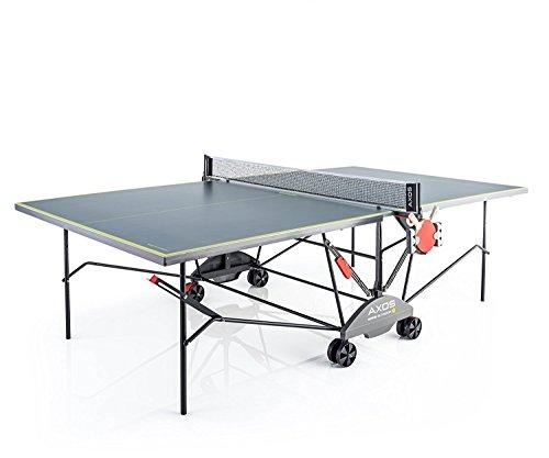 Kettler Tischtennisplatte AXOS Outdoor 3  rollbarer TT-Tisch fr drauen inkl. Ball- und Schlgerhalterung...