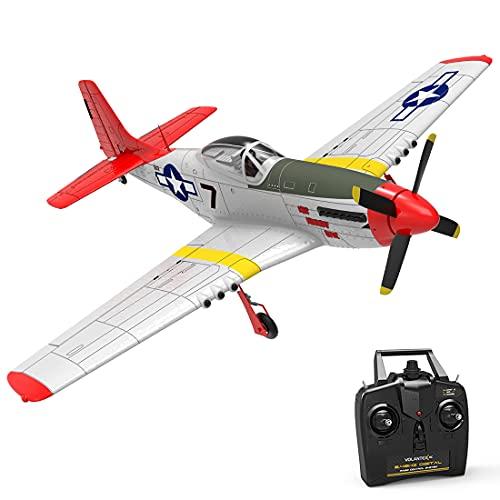 Gettesy Segelflugzeug Ferngesteuert, 2.4Ghz RC Flugzeug Spielzeug mit Xpilot Gyroskop für Anfänger, Flieger...