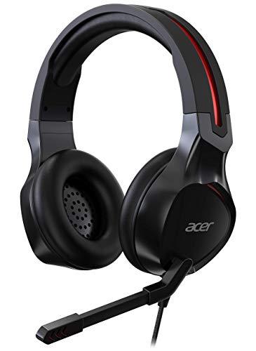 Acer Nitro Gaming Headset (anpassbares Kopfband, omnidirektionales Mikrofon, 100 dB Empfindlichkeit)...