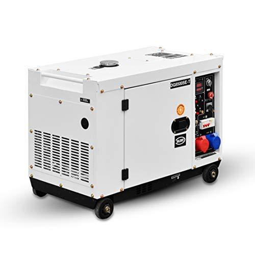 HIOD Stromaggregat Stromerzeuger Notstromaggregat Stromgenerator Notfallgenerator 8500W, 6.9kva-7.9kva, 230 V...