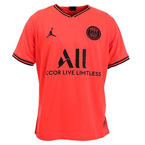 Nike Herren Teamtrikot PSG Breathe Stadium Auswärt Trikot, Infrared 23/Black, S, AJ5552