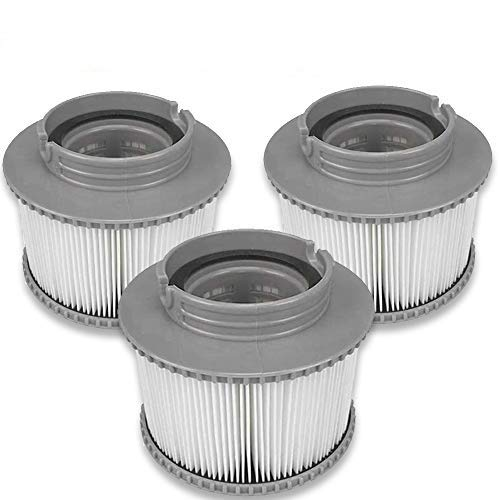 3PCS Filterelement Filterkartusche Pool-Filterkartuschen Whirlpool Filter Kartusche MSpa Filterkartusche für...