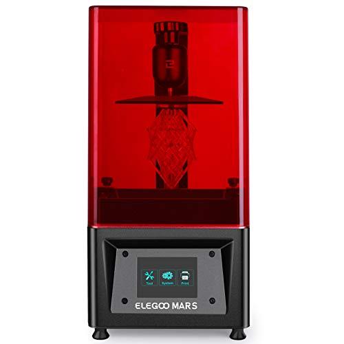ELEGOO Mars UV LCD 3D Drucker mit 3,5 Zoll Smart Farbtouchscreen Offline-Drucken Druckbereich von 115 x 65 x...