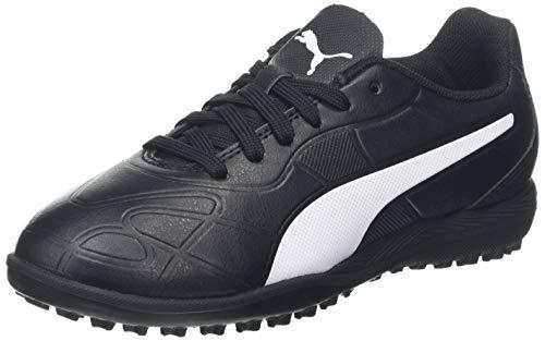 PUMJV|#Puma Monarch Tt Jr, (Puma Black-Puma White 01), 12 (31 EU) EU