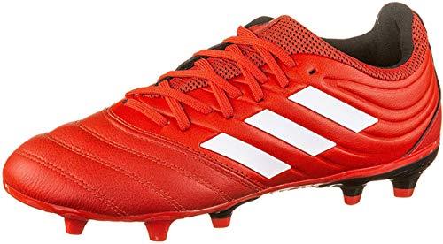 adidas Herren Copa 20.3 FG Fußballschuh, Active Red FTWR White Core Black, 43 1/3 EU