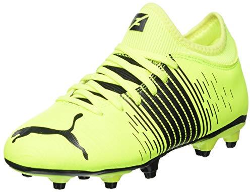 PUMA Future Z 4.1 FG/AG Jugend Fußballschuhe Yellow Alert- Black- White UK 1_Youth_FR 33