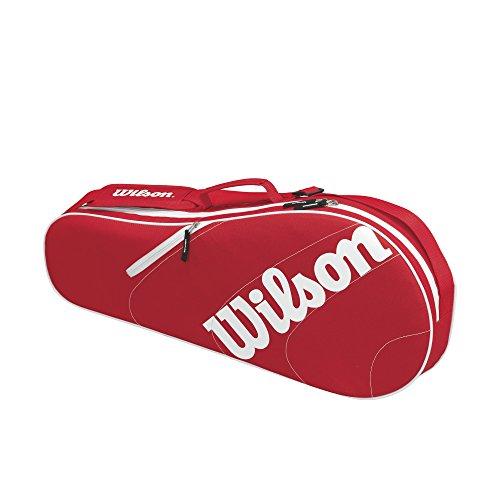 Wilson Advantage Team III red/white 3er Schlägertasche