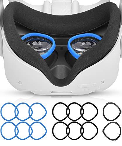 AkoaDa Objektiv Anti Kratzring, Der Myopie Brillen Vor Kratzern Schützt VR Headset Objektiv Kompatibel Mit...