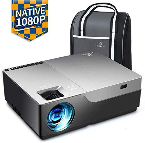 VANKYO Performance V600 Beamer, 6500 Lumen Full HD Beamer, Native 1080P Heimkino Beamer mit 300' Display,...