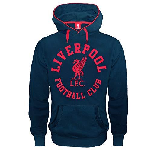 Liverpool FC - Herren Fleece-Hoody mit Grafik-Print - Offizielles Merchandise - Geschenk für Fußballfans -...
