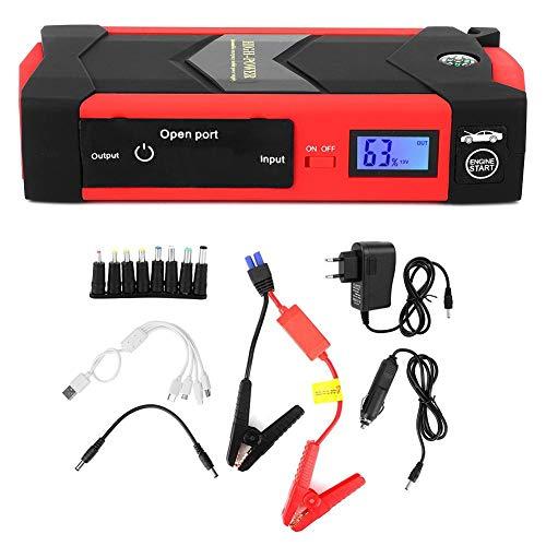 Starthilfegeräte Autostart 12V 26000Mah Multifunktions Digitalanzeige Smart Jump Starter...
