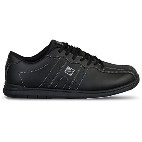 KR Herren Strikeforce O.P.P Bowlingschuhe schwarz breit, Schwarz - Größe: 42 EU
