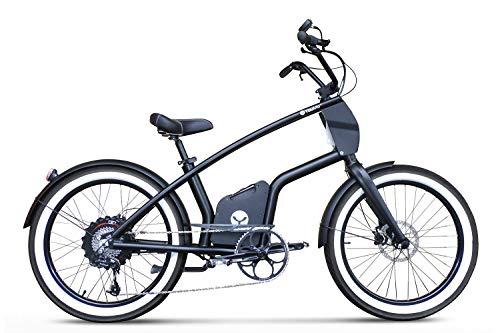 YouMo Erwachsene One X500 S-Pedelec Elektrofahrrad, Schwarz, M