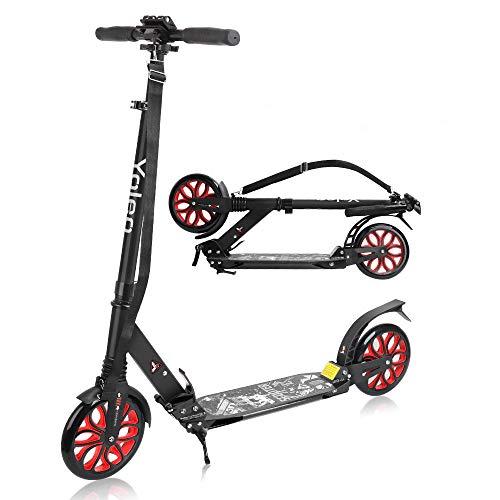 YOLEO Scooter für Erwachsene Roller Kickscooter Tretroller Cityroller für Kinder ab 10 Jahre 200mm Rad...