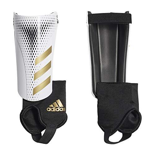 adidas Erwachsene Predator 20 Match Schienbeinschoner, White/Gold met./Black, M