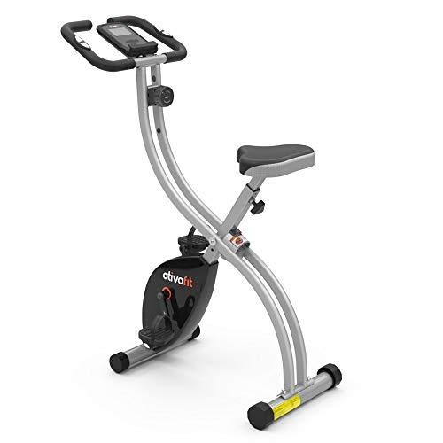 ATIVAFIT X-Bike Sport Fitnessfahrrad für Heimtrainer Fitnessbike für Ober-Und Unterkörper x-Bike mit...