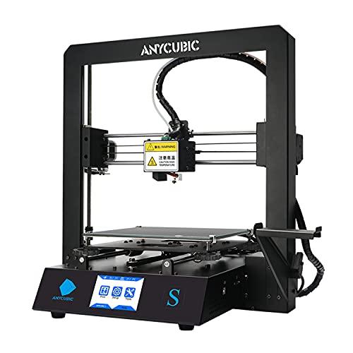 ANYCUBIC Mega S 3D Drucker mit Aktualisiertem Extruder, FDM DIY Drucker mit Verbesserter Touchscreen und...