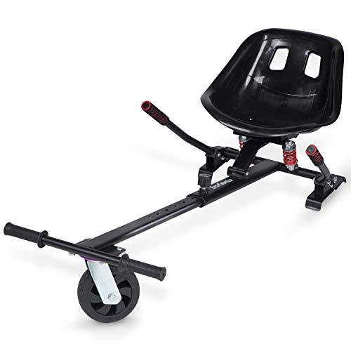 Blaustein EasyCruiser PRO Hoverkart I Premium Hoverboard Sitz als Kart-Erweiterung für alle Hoverboards von...