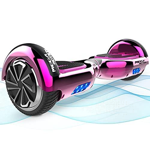 Mega Motion Hoverboards, Hoverboard Kinder, 6,5 Zoll Selbstausgleichendes Zweirad-Hoverboard mit...