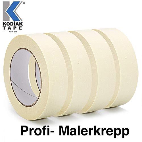 10 Rollen Kreppband Malerkrepp Abklebeband Malerband 30mm x 50m (EUR 0,032 / m)