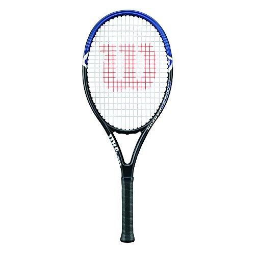 Wilson Damen/Herren-Tennisschläger, Anfänger, Hyper Hammer 2.3 110, Griffstärke 3, Grafit, grau/blau,...