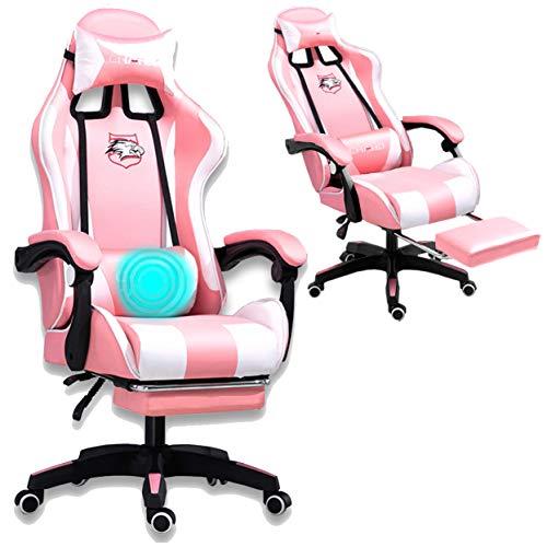 Grykon Computer-Gaming-Stuhl mit Massagegerät. Ergonomischer Bürostuhl Gaming-Rennstuhl, Computer-Stuhl,...