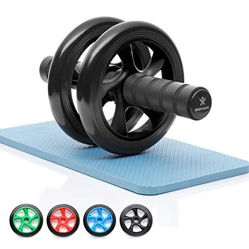 BODYMATE AB Roller Classic, Bauchtrainer zur Stärkung der Core-Muskulatur, Fitnessgerät für Zuhause,...
