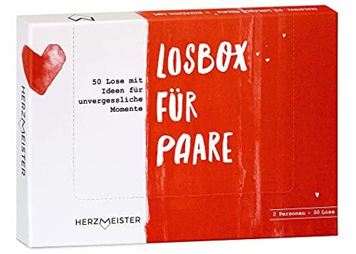 Losbox für Paare I Das Paar-Geschenk für 50 unvergessliche Momente I 50 Lose mit Ideen für Spiel, Spaß &...
