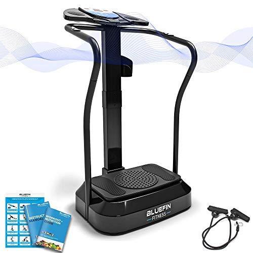 Bluefin Fitness Vibrationsplatte Pro Modell | Verbessertes Design mit Leisen Motoren und Eingebauten...