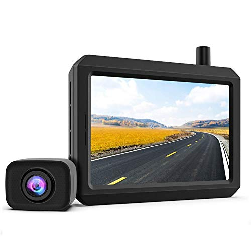 Digital Kabellos Rückfahrkamera Set K7PRO unterstützt 2 Kameras, Funk Rückfahrkamera mit Stabilem Signal,...