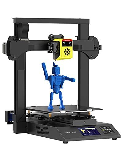 FOKOOS Odin-5 F3 3D-Drucker, Faltbarer FDM 3D-Drucker mit Doppelter Z-Achse und Integriertem Extruder,...