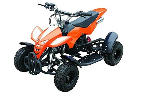 RV-Racing Kinderquad 49ccm Quad ATV Miniquad Kinder pocketbike pocketquad Orange