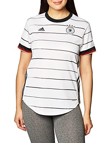 adidas Damen T-Shirt DFB H JSY W, Blanco, S, EH6102