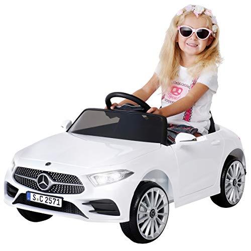 Actionbikes Motors Kinder Elektroauto Mercedes Benz CLS 350 - Lizenziert - Rc 2,4 Ghz Fernbedienung - Led -...