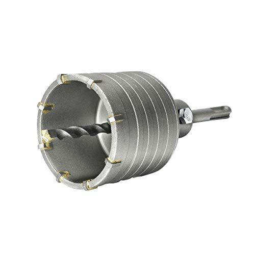 S&R Hohl-Bohrkrone Set Ø 68mm mit SDS plus Adapter 110mm und Zentrierbohrer 8x110mm. Hammerschlagfest,...