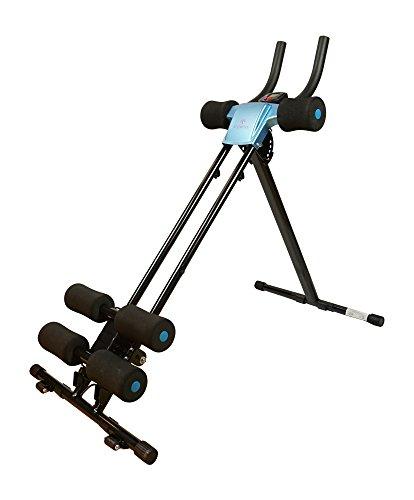 Styletics Bauchtrainer, Bauchmuskeltrainer klappbar für Zuhause, Trainingscomputer, Verschiedene...