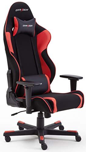 Robas Lund DX Racer OH/RW86/NR R1 Gaming Stuhl XXl für Große Gamer bestens geeignet, mit Wippfunktion Gamer...