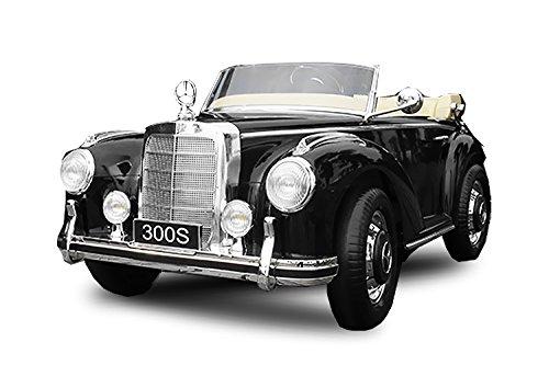 Toyas Mercedes Benz 300s Oldtimer Lizenz Kinderfahrzeug mit 2X 35W Motor Kinderauto Elektroauto Fernbedienung...